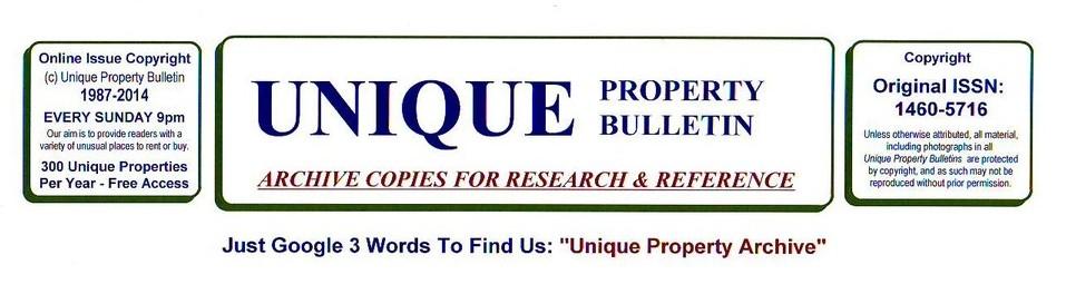 Unique Property Bulletin – Archive